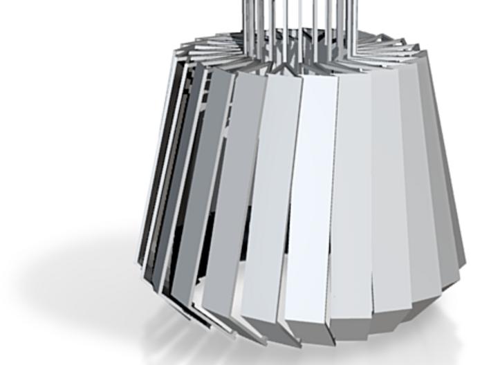 Turbine #Lamp 3d printed
