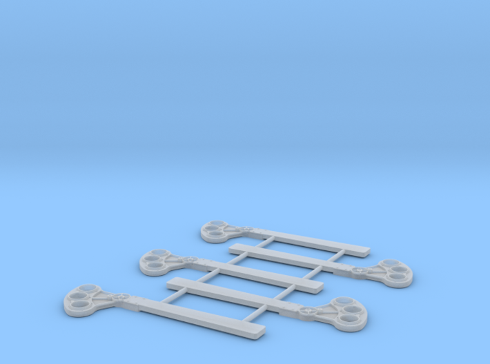 O Scale USS Style B Square 3d printed