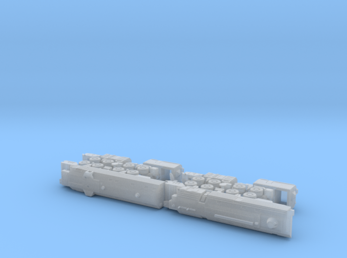 A-222 Bereg Coastal Battery 1 1/285 6mm 3d printed