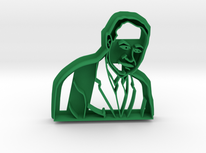 Dr Charles Drew Cookie Cutter 3d printed