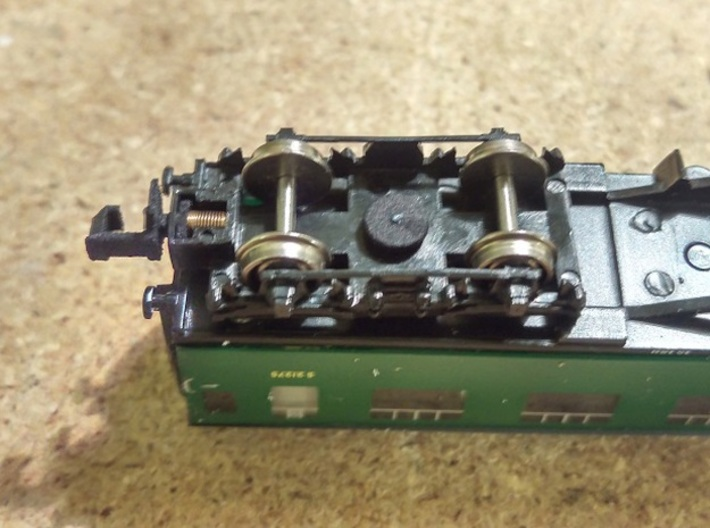 N Gauge Replacment Graham Farish Bolster Pins x20 3d printed Coach fitted with replacment