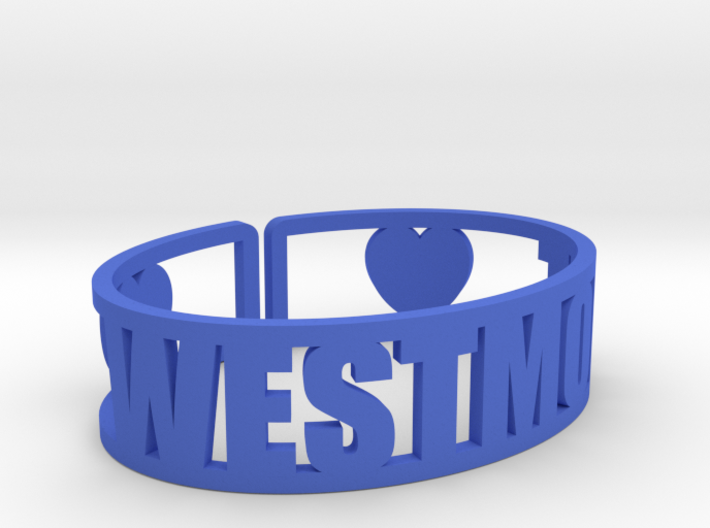 Westmont Cuff 3d printed