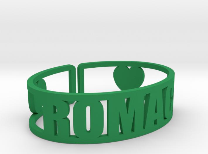 Romaca Cuff 3d printed