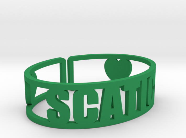 Scatico Cuff 3d printed