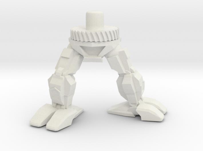 Snortmechbottom 3d printed