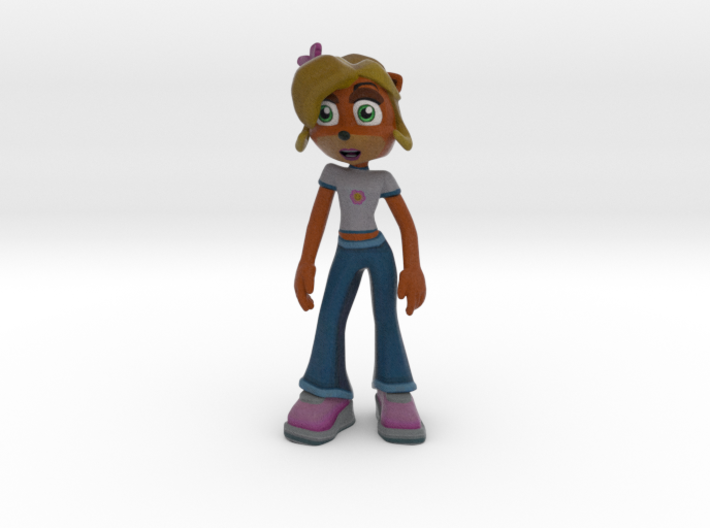 Coco Bandicoot - Crash Twinsanity - 100mm 3d printed