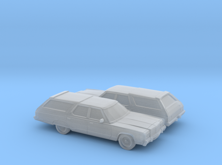1/160 2X 1977 Chrysler Town and Country 3d printed