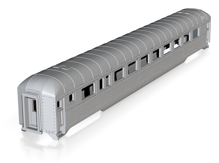N scale DRGW streamstyled coach 3d printed