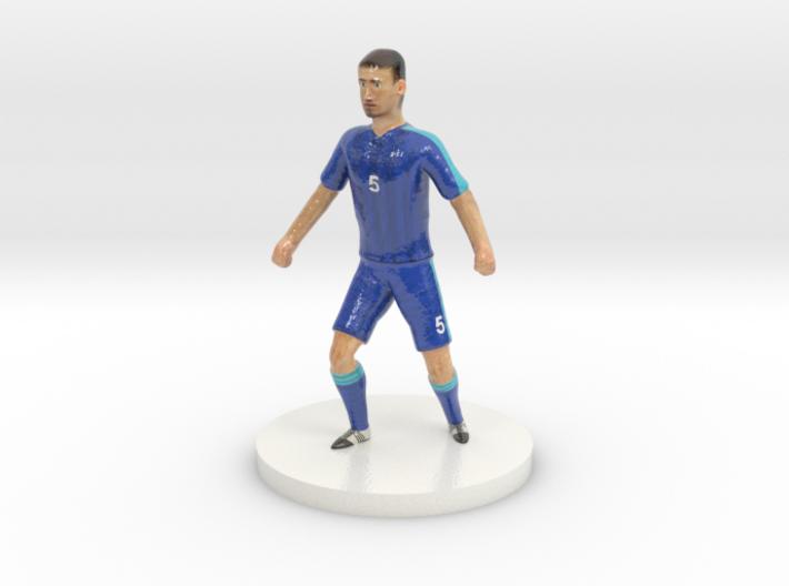 Slovak Football Player 3d printed
