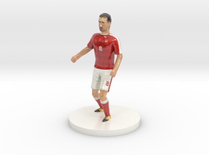 Swiss Football Player 3d printed