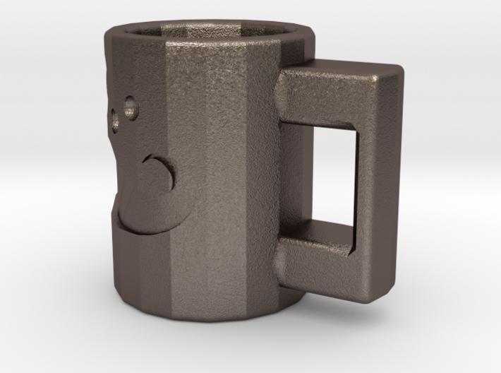 Moustache Mug 3d printed