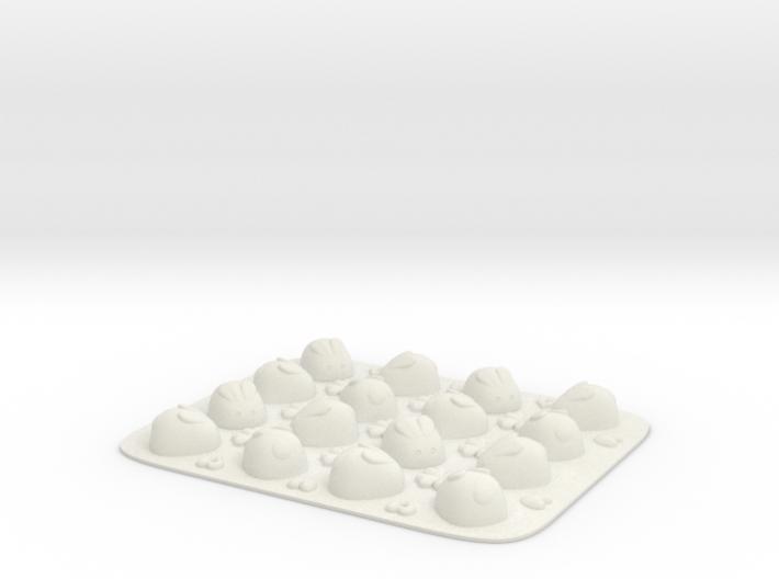 Rabbit Pan Mold Small-14 3d printed