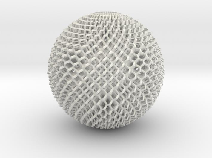 Diamond Sphere 3d printed