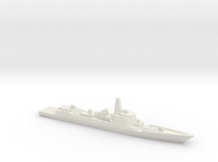Type 052D Destroyer, 1/2400 3d printed
