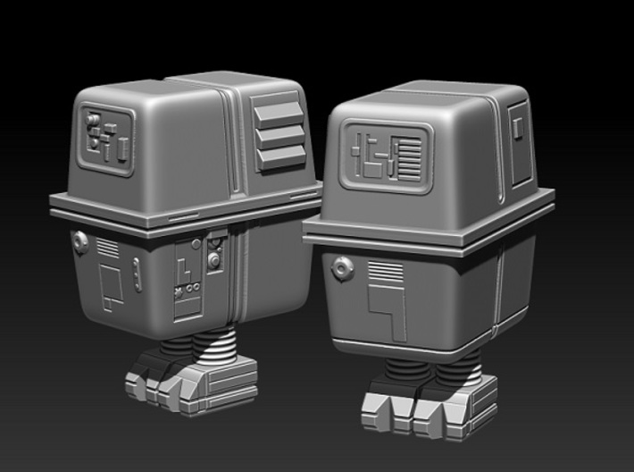 Gonk droid 1:72 3d printed