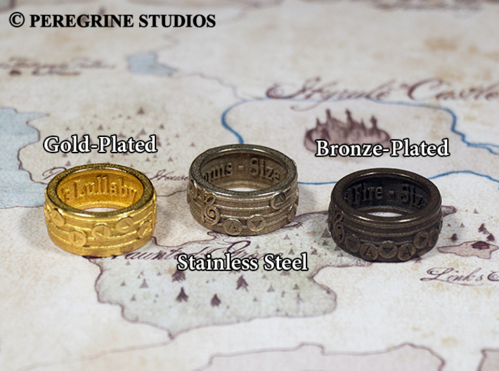 Ring - Song of Storms 3d printed