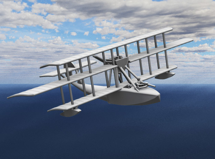 "Levy-Besson ""Alerte"" Flying Boat 3d printed Computer render of the actual model"