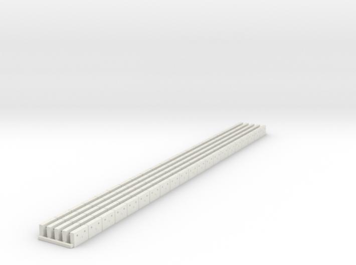 SET Flexible Österreichische Bahnsteigkante (N) 3d printed