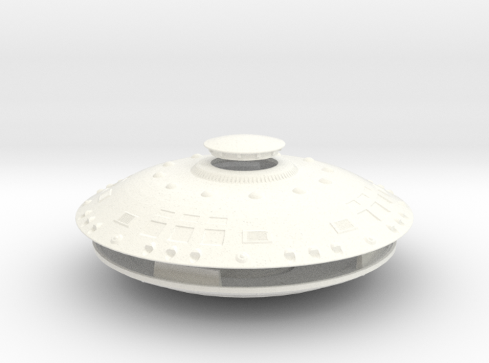 AECV CONTROL SHIP 5 Inch Diameter ASMB W New Gear 3d printed
