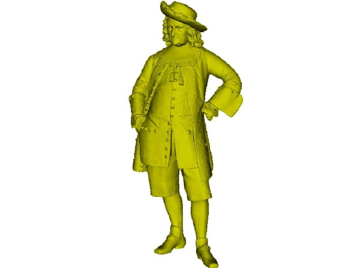 1/15 scale French provost 18th Century figure 3d printed