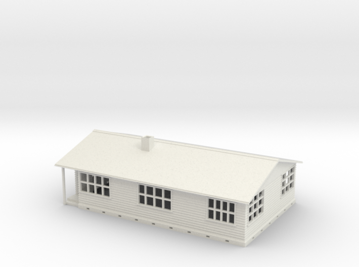 n scale house 3d printed