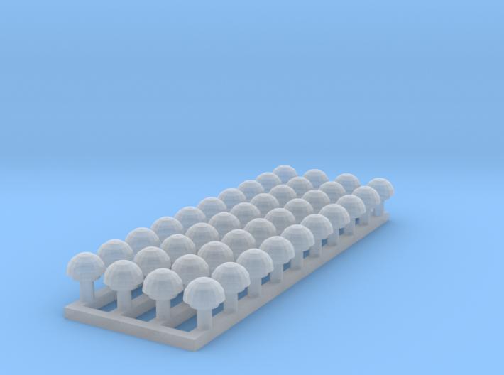 Dachlüfter Fixed 3d printed