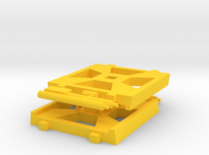 X-Wing Gaming Base (Small), 2 Bases 3d printed