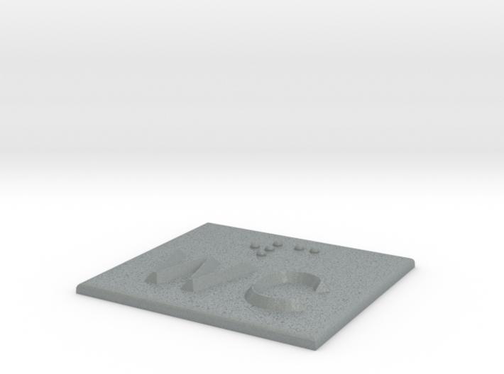 WC 3d printed