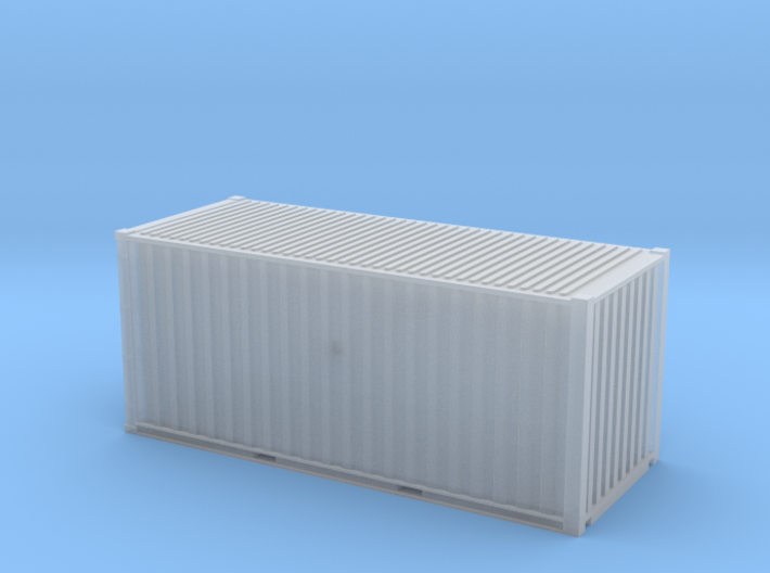 20' ISO Container (1:64) 3d printed