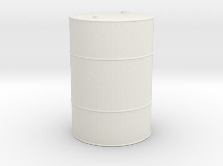 55 Gallon Drum 1/10 scale 3d printed