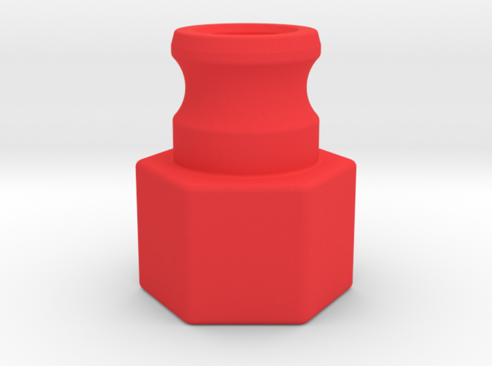 1-in FNPT Laminar Flow Nozzle 3d printed
