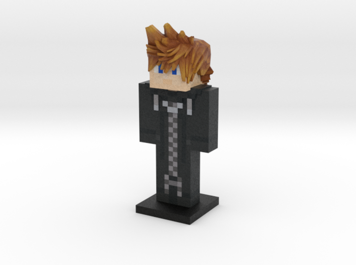 #13 - Roxas (Weaponless) 3d printed