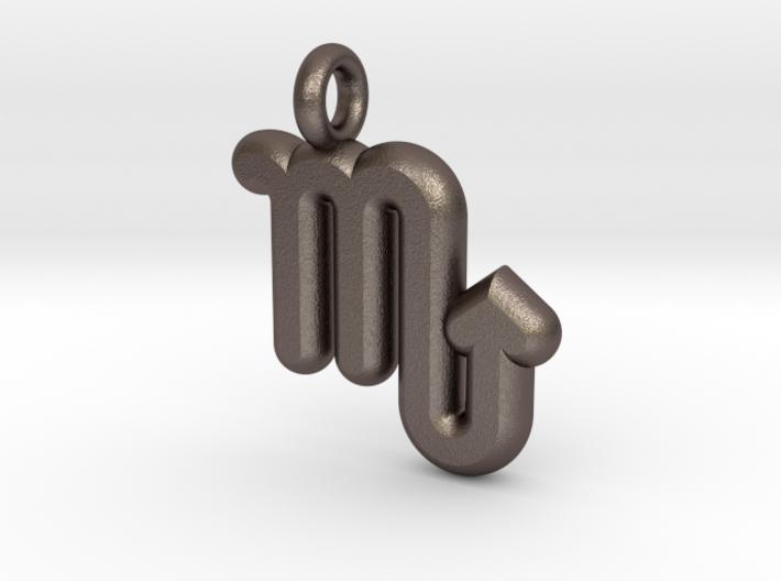 Scorpio Symbol 3d printed