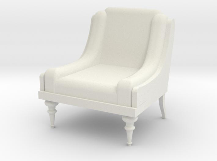 Low Armchair 1:25 3d printed