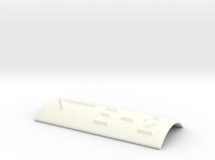 E-2 mit Pfeil nach links 3d printed