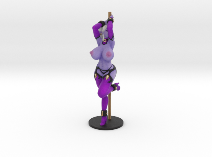 Pole Dancer Syx (Topless) 3d printed