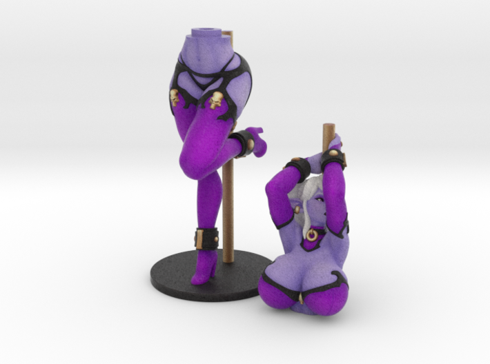 Pole Dancer Syx (Bra) 20 cm (approx 8 inches) 3d printed
