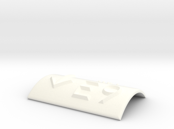 E9 mit Pfeil nach unten 3d printed