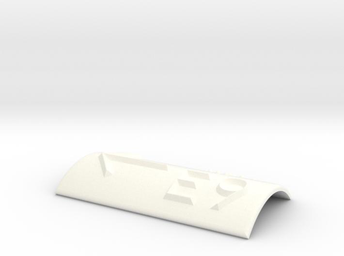 E9 mit Pfeil nach links 3d printed
