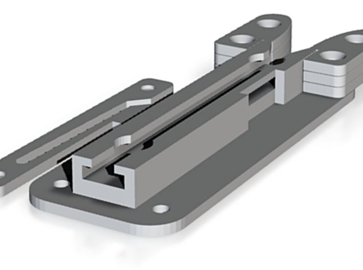 Kylo Ren Belt Clip 3d printed