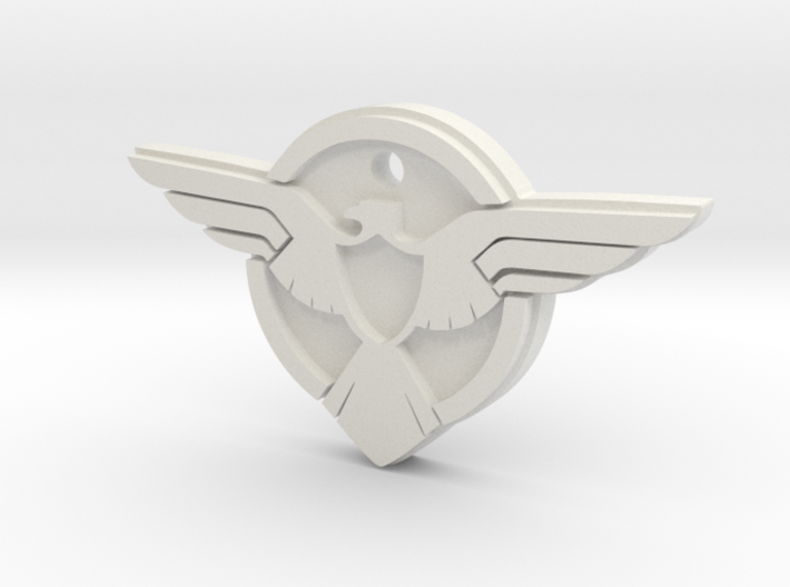 Marvel SSR Logo Cat Collar 3d printed