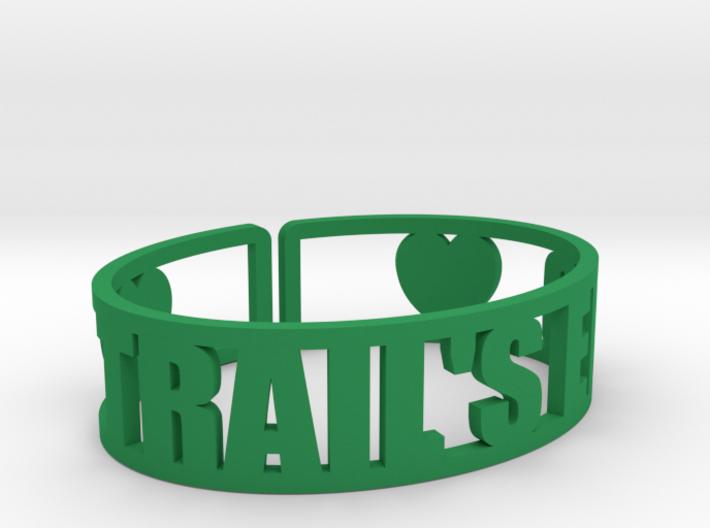 Trail's End Cuff 3d printed