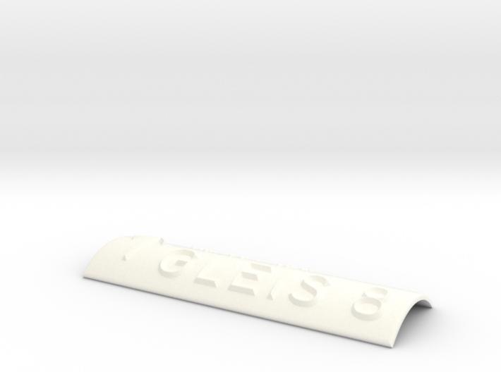 GLEIS 8 mit Pfeil nach oben 3d printed