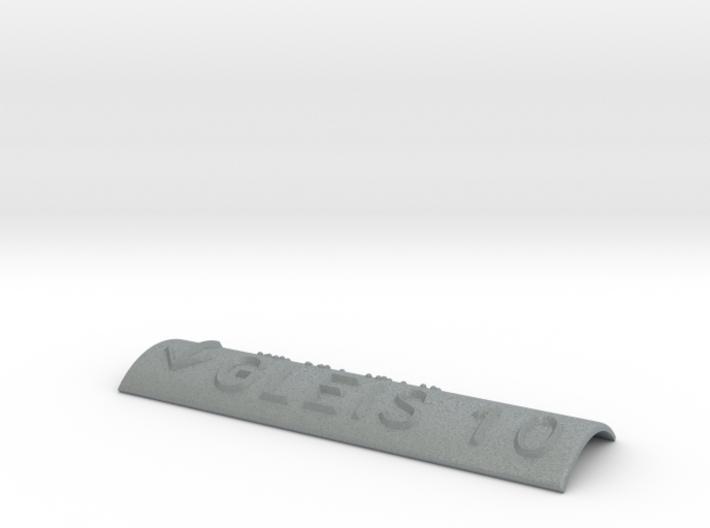 GLEIS 10 mit Pfeil nach unten 3d printed