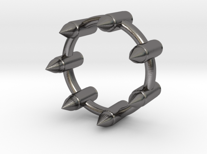 BULLET RING 3d printed