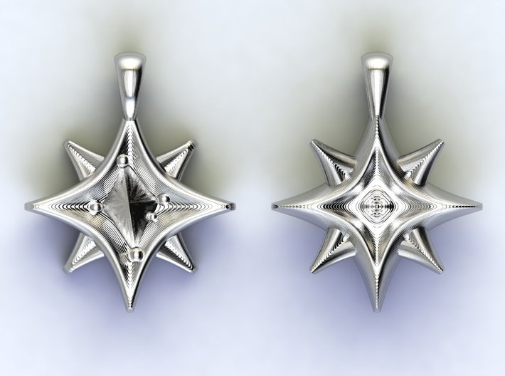 Southern cross Stars 3d printed