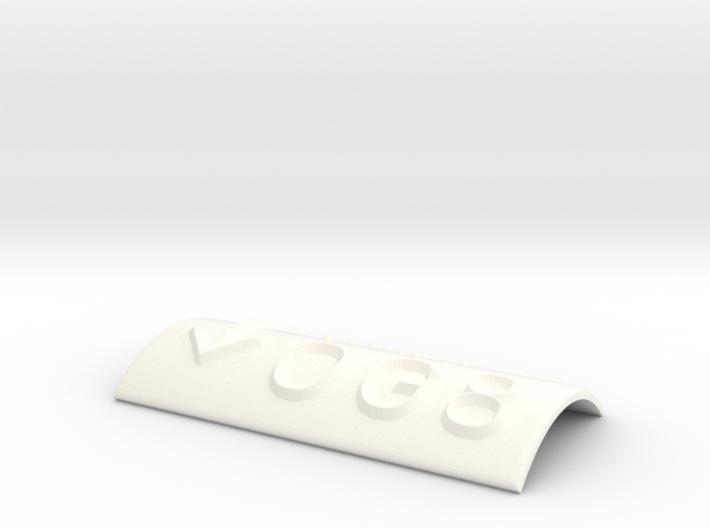 OG 8 mit Pfeil nach unten 3d printed