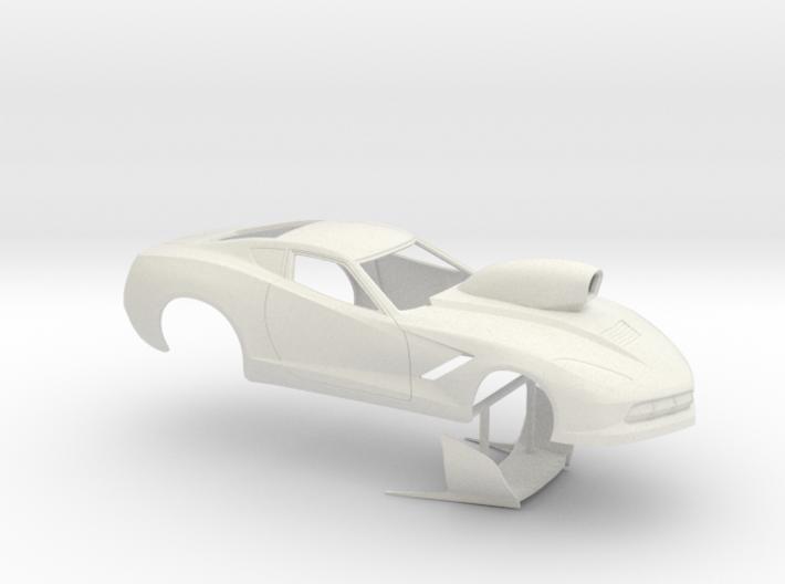 1/12 2014 Pro Mod Corvette 3d printed