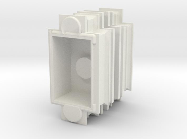 Modesto Arch Pillar Top 1:48 3d printed