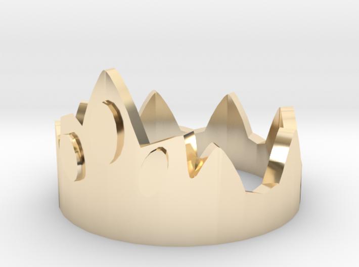 Dice Of Crowns - Metal Crown 3d printed